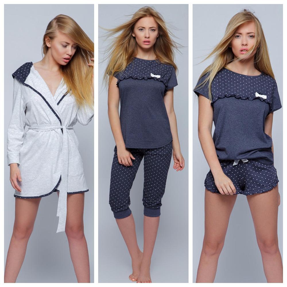 Халаты пижамы сорочки Sensis хлопок купить