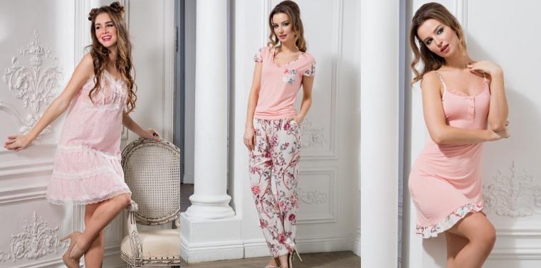 Ночные сорочки пижамы халаты Mia-Mia Италия