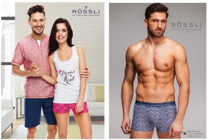 сорочки пижамы нижнее белье Rossli купить