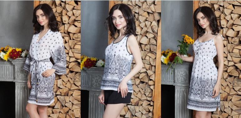 одежда для дома сорочки пижамы халаты Mia-Mia