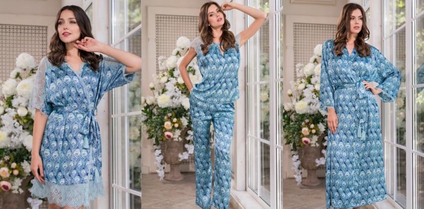Сорочки пижамы комплекты халаты Venecia Mia-Mia купить