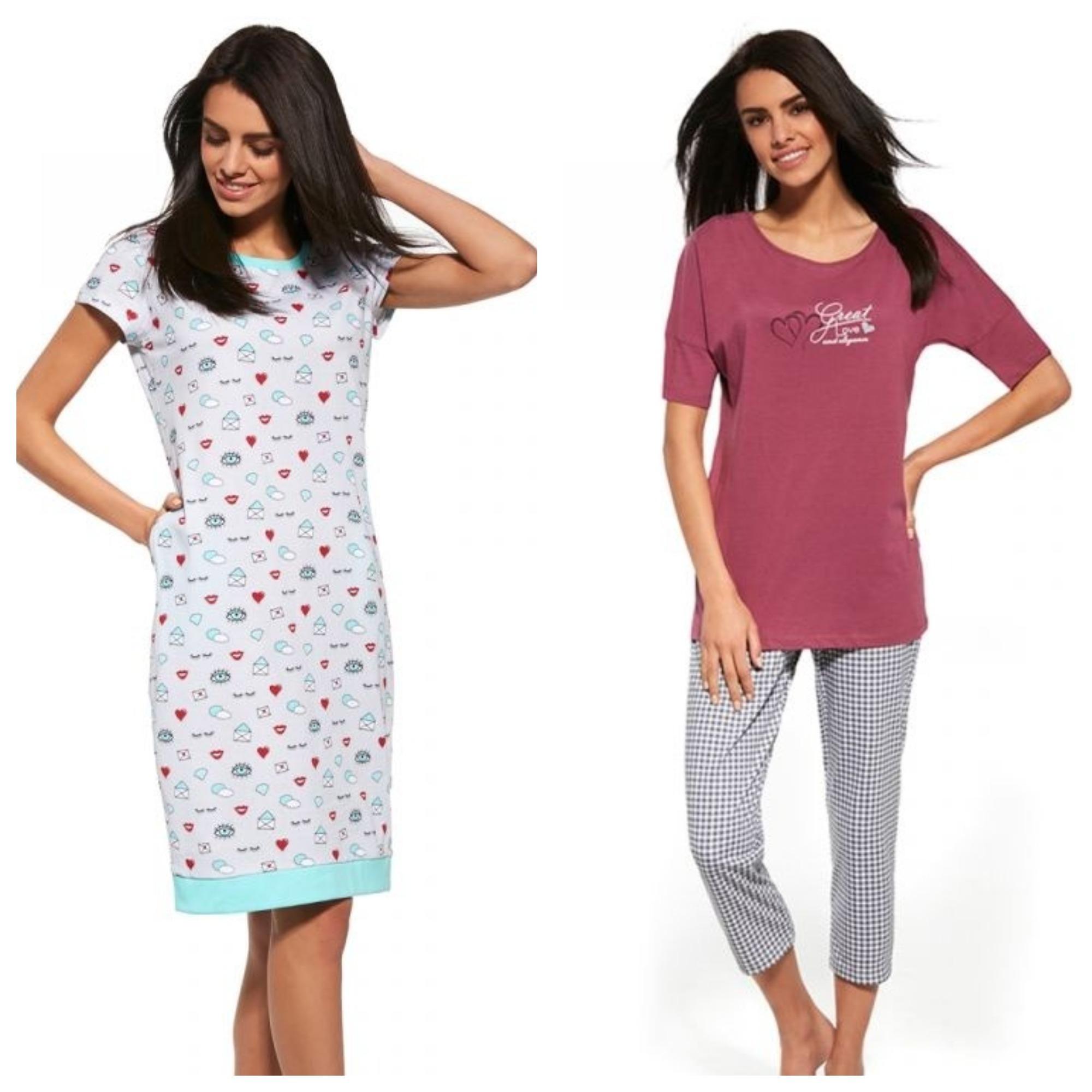 Пижамы и ночные сорочки Cornette купить