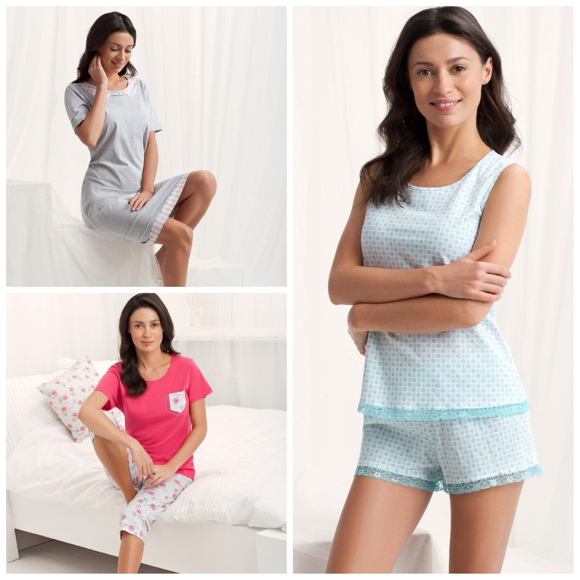 Женские пижамы и ночные сорочки Luna