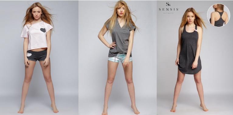 Женские сорочки и пижамы халаты комплекты ТМ Sensis купить интернет-магазин