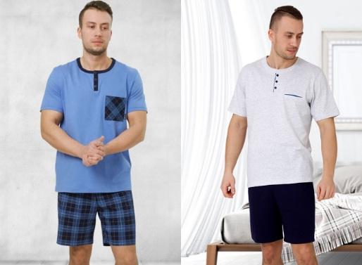 Пижамы сорочки для мужчин женщин хлопок M-MAX Польша купить