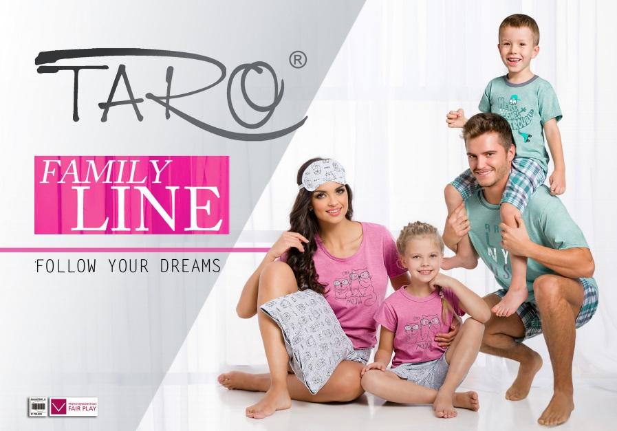 пижамы сорочки халаты мужские женские детские TARO