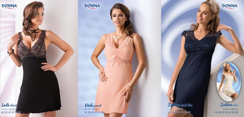 Donna женские ночные сорочки