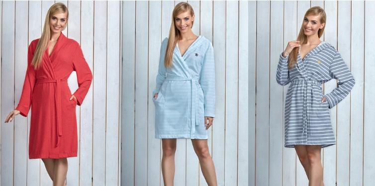 Женские халаты купить L&L Польша