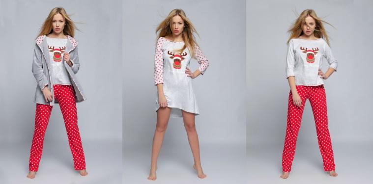 новогодние сорочки пижамы халаты Sensis