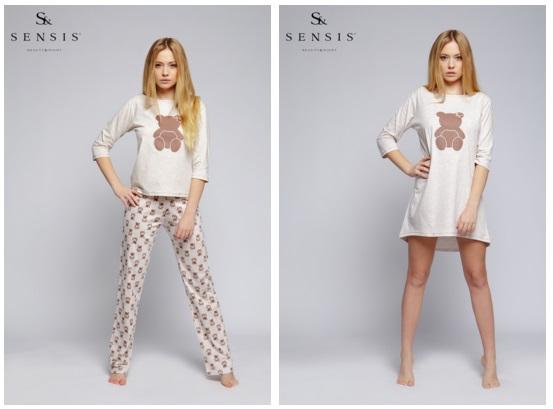 Женские пижамы и сорочки Sensis купить интернет магазин Киев