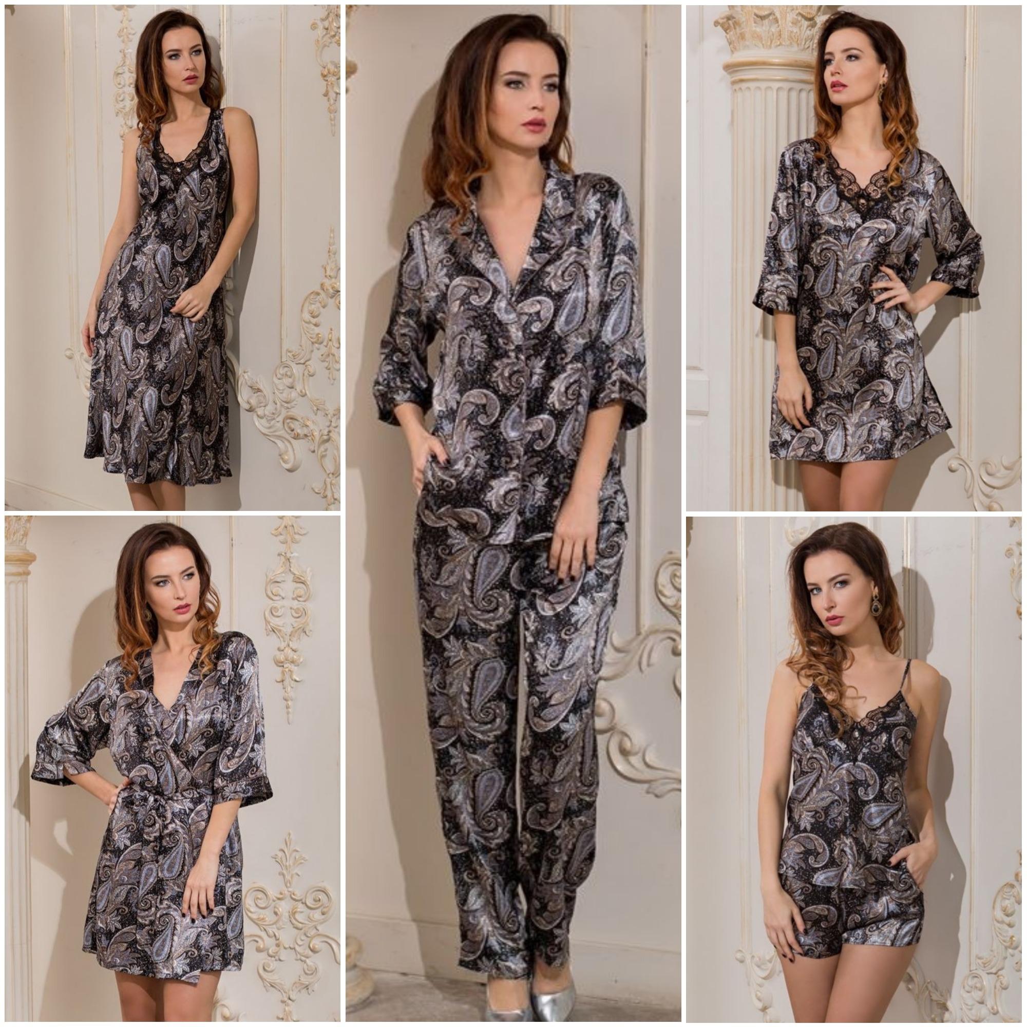 Сорочки пижамы халаты Donatella Mia-Mia