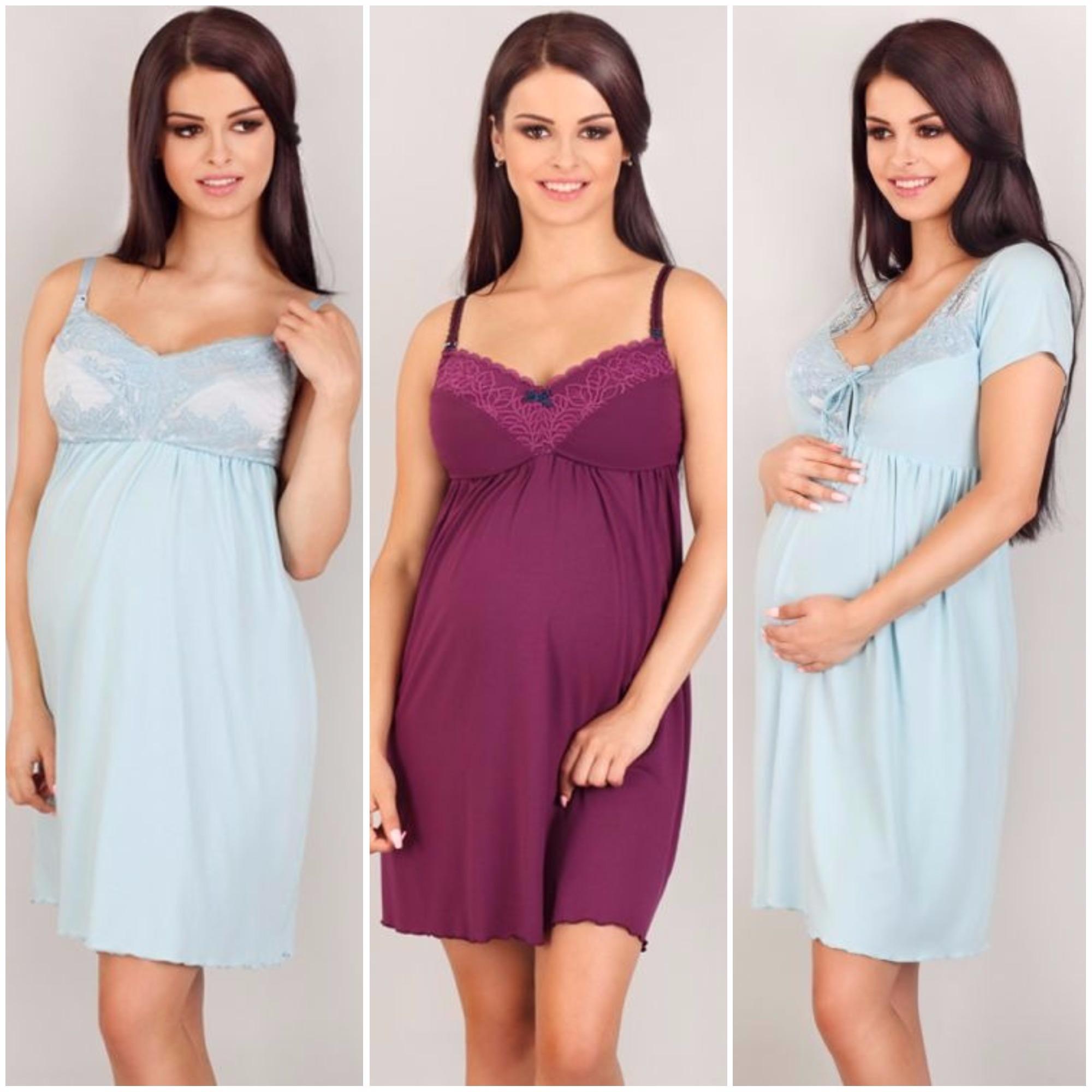 Ночные сорочки для кормления и беременных LupoLIne