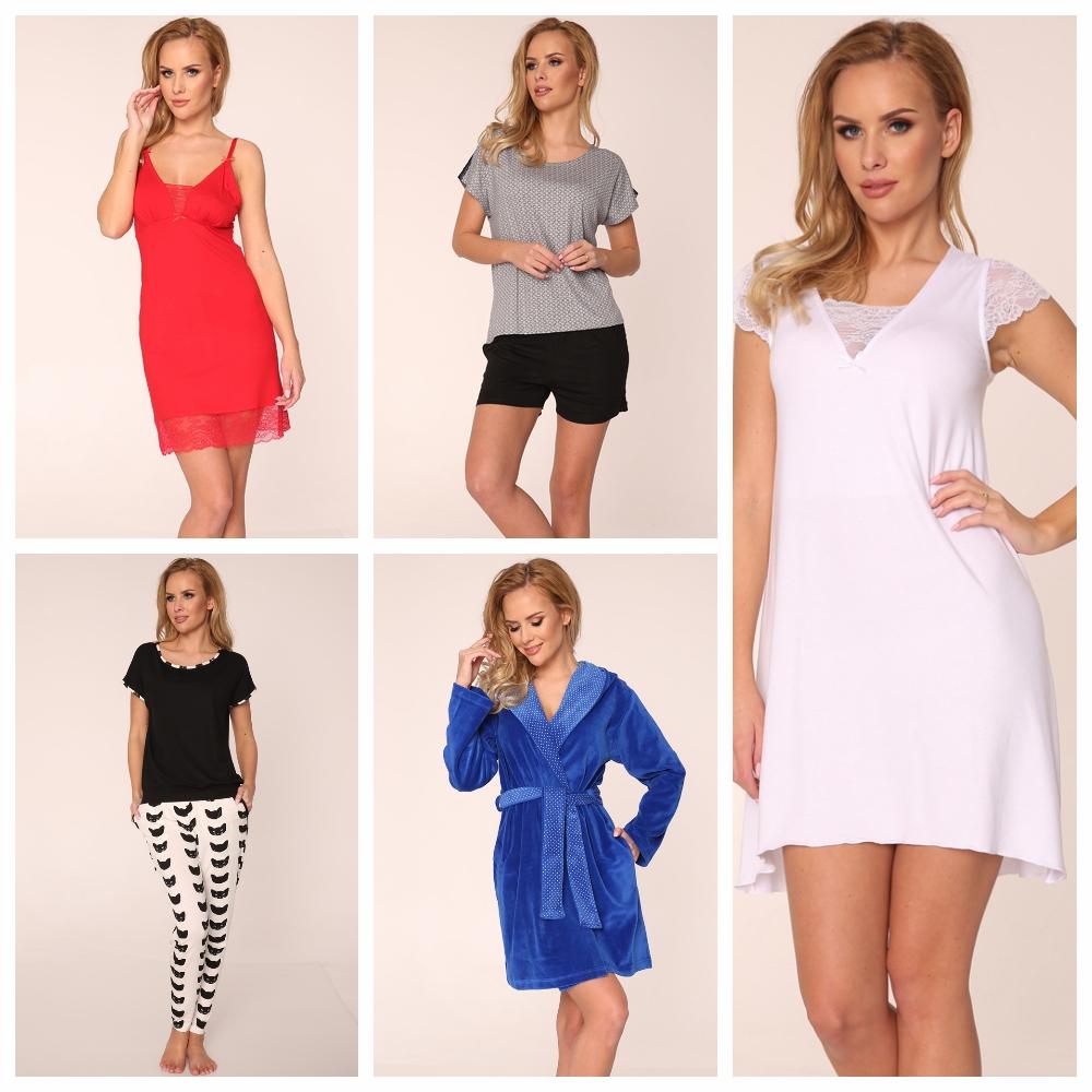 Женские сорочки, пижамы, халаты, комплекты De Lafense купить интернет-магазин