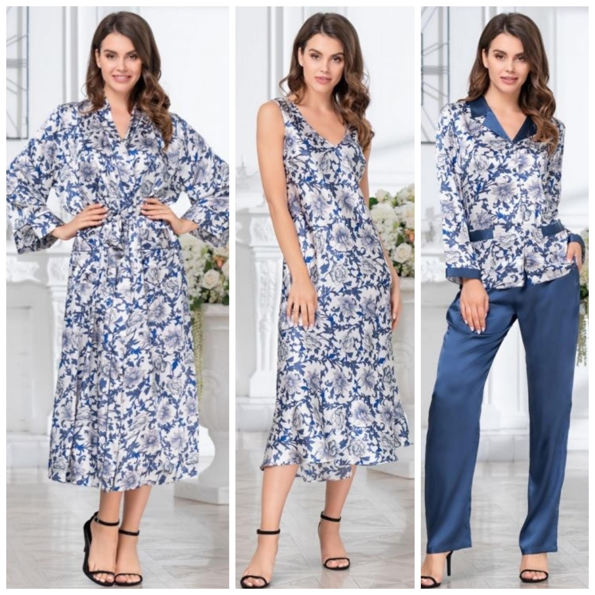 Коллекция Elizabeth Mia-Mia пижамы сорочки халаты