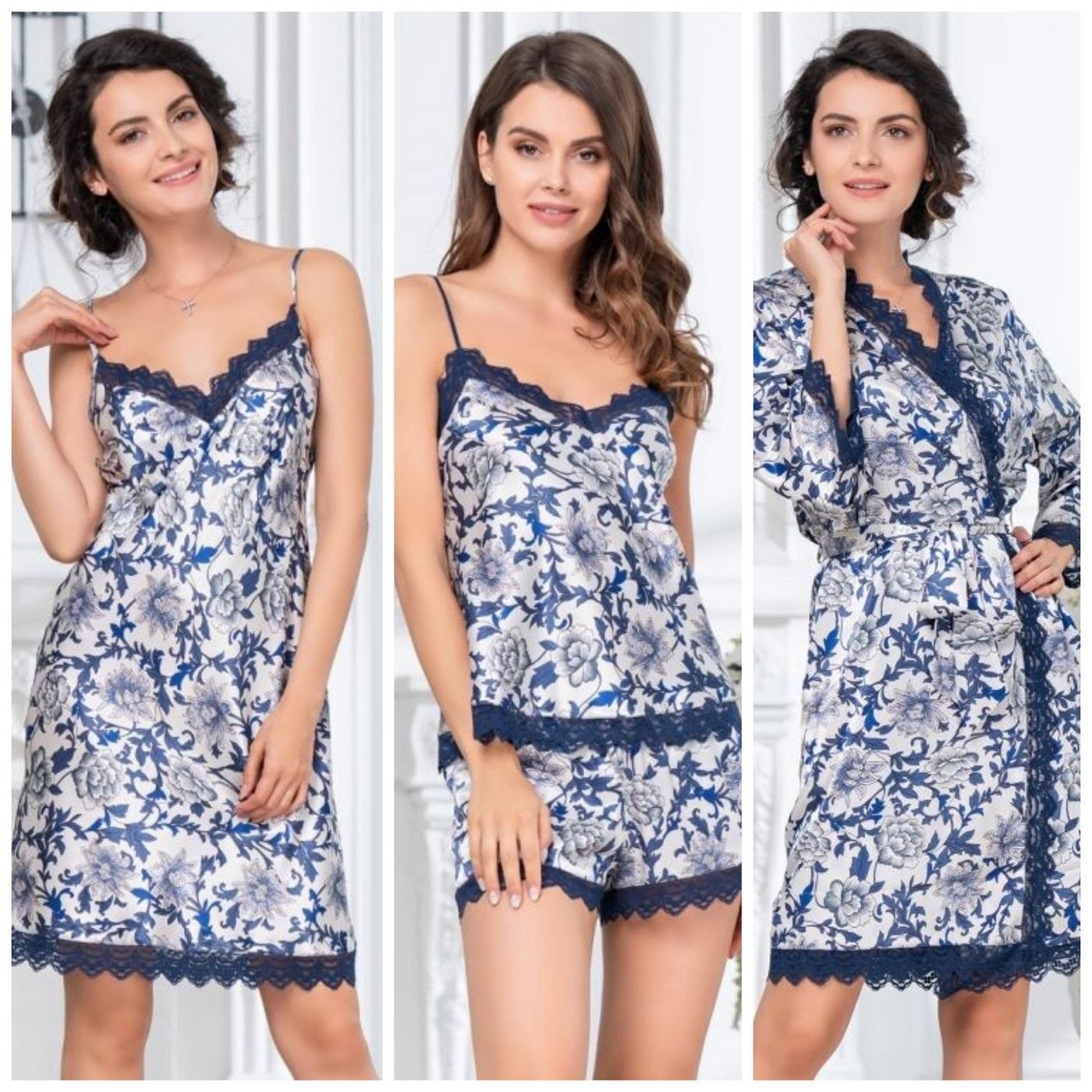 Коллекция Elizabeth от Mia-Mia сорочки пижамы халаты