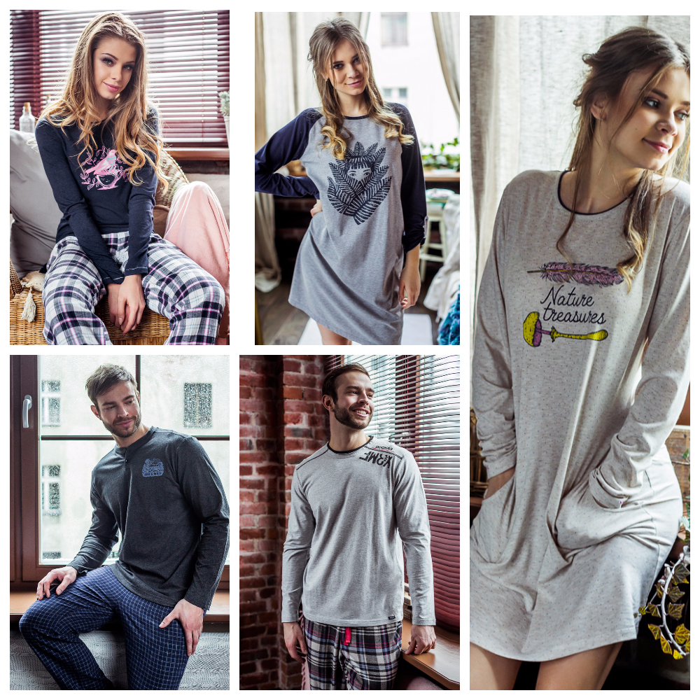 сорочки пижамы халаты Key Польша