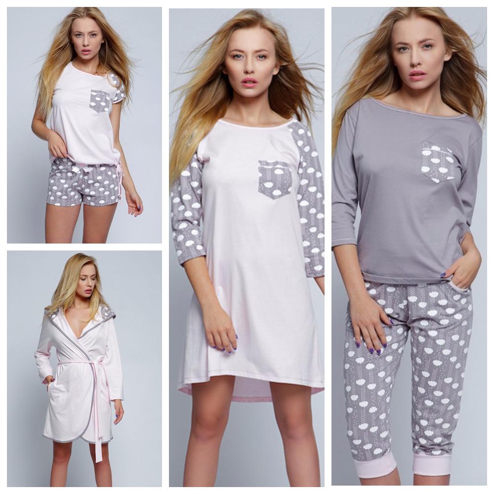 Сорочки пижамы халаты Sensis Польша купить Киев