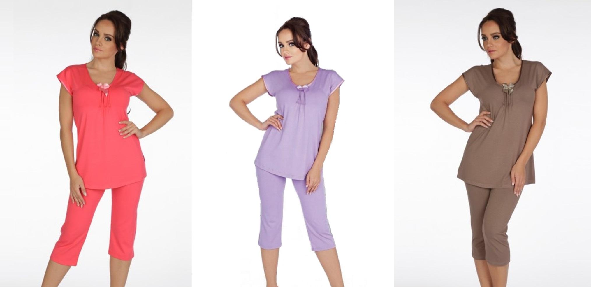 Женские пижамы комплекты ТМ DeLafense (Польша)