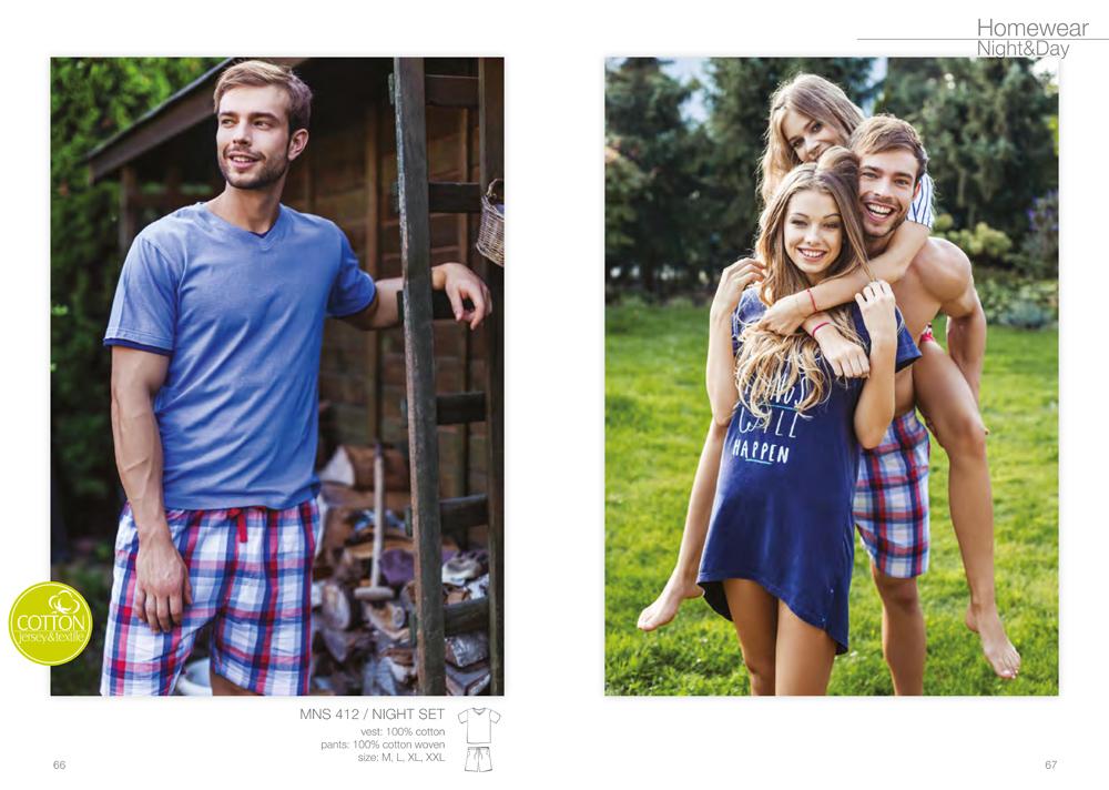 мужские пижамы KEY Польша купить Киев