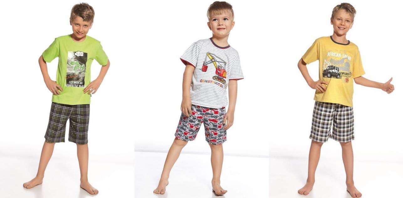Новые пижамы для мальчиков ТМ Cornette