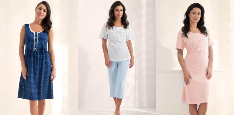 Сорочки пижамы LUNA купить Киев хлопок