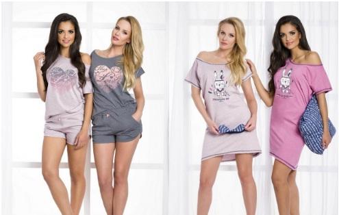 Сорочки пижамы халаты хлопок TARO Польша  купить Киев