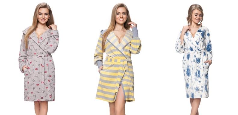 Женские халаты хлопок Dorota Польша купить