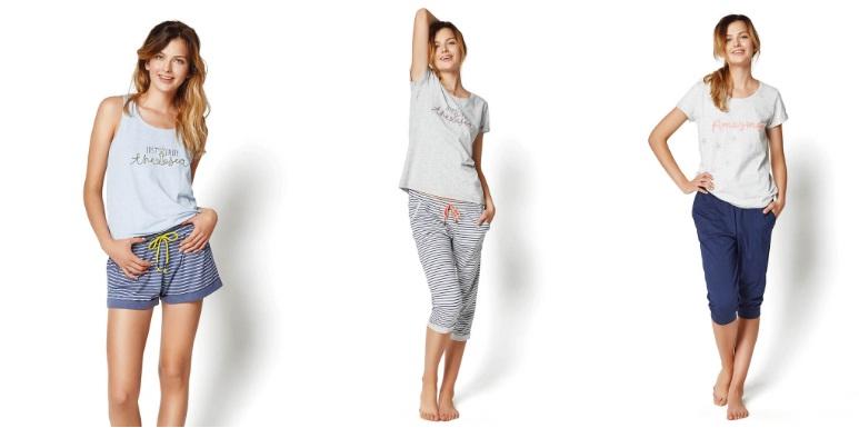 сорочки пижамы комплекты нижнее белье Henderson Польша хлопок