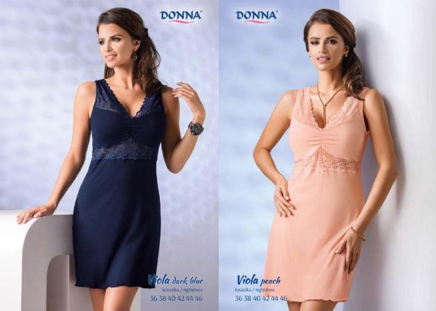 Сорочки халаты вискоза Donna Польша купить