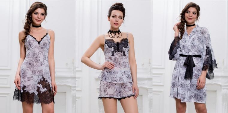 Сорочки комплекты халаты Nicoletta Mia-Mia купить