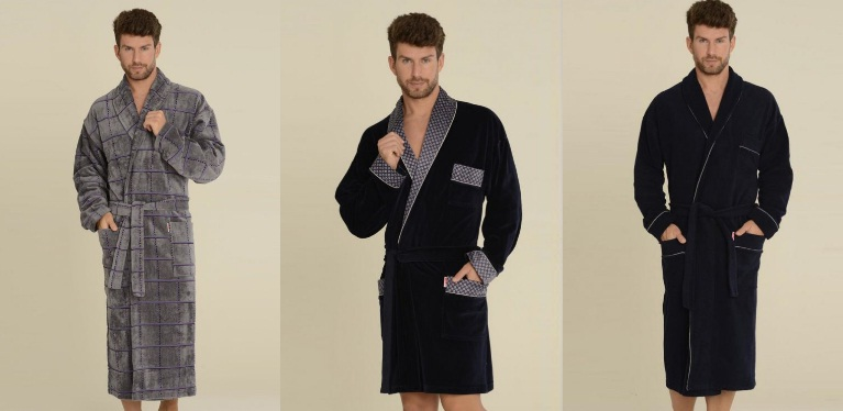 Мужские халаты De Lafense купить