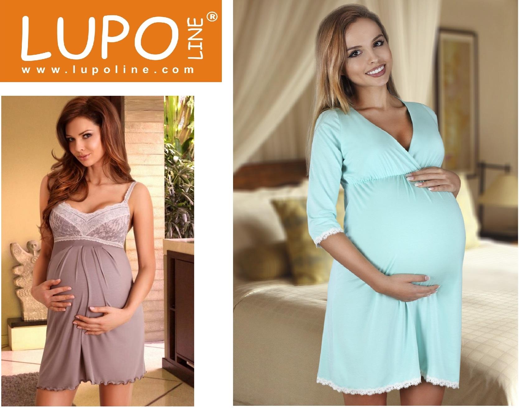 Одежда для дома и сна ночные сорочки пижамы комплекты халаты одежда для беременных и кормящих мам Lupoline купить интернет-магазин Киев