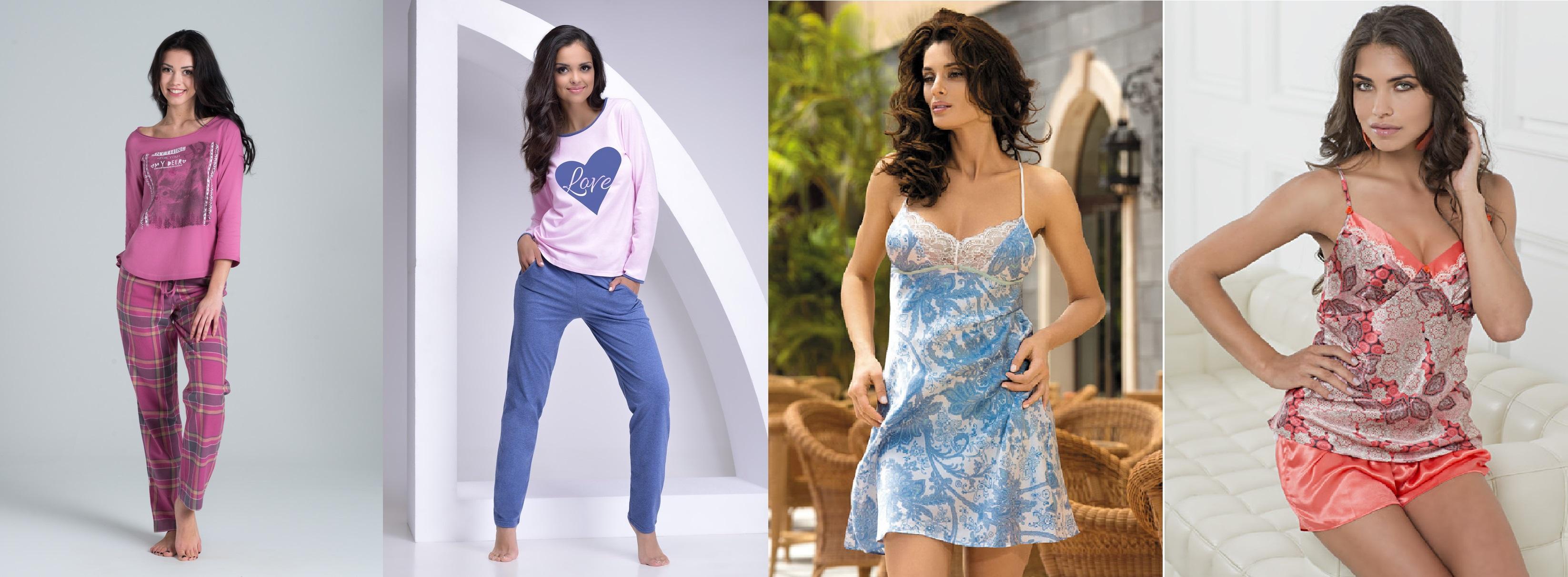 женские пижмы комплекты сорочки
