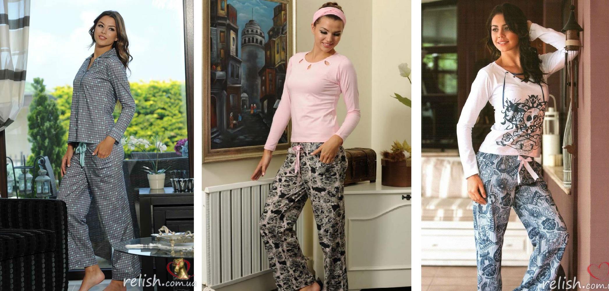 Женские пижамы хлопок Maranda купить интернет-магазин Киев