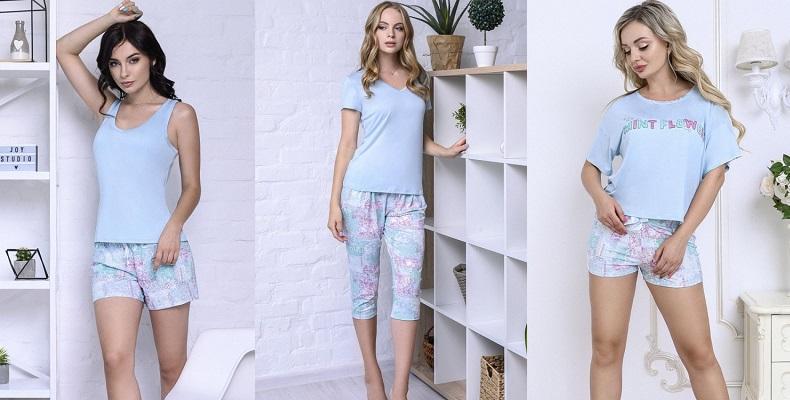женские пижамы вискоза
