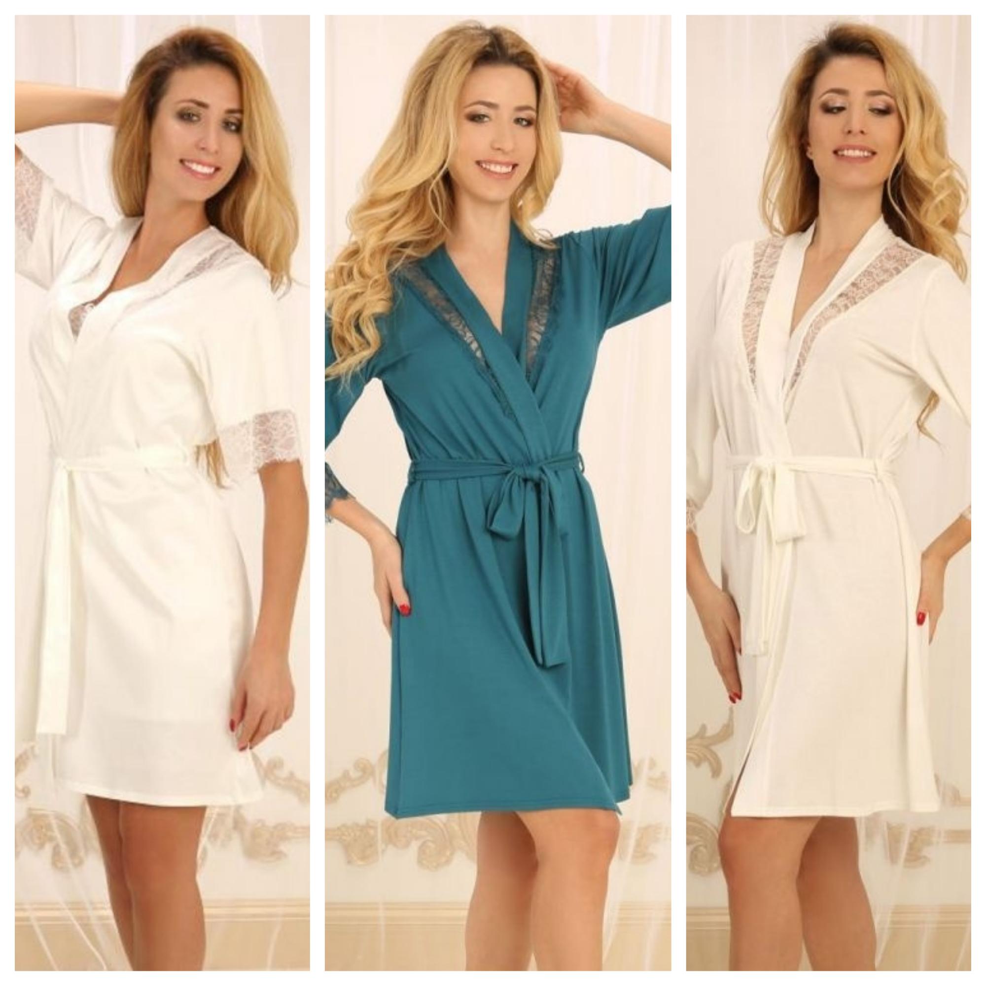 Violet delux халаты женские купить
