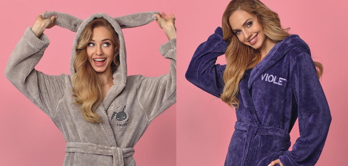 L&L халаты женские плюш купить