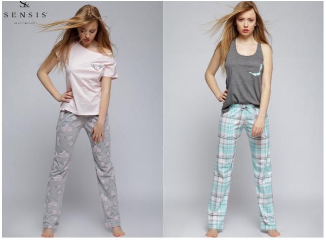 Пижамы женские TM Sensis хлопок