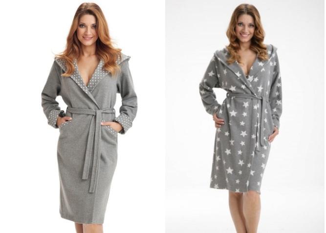 Халаты женские трикотажные Dorota купить в интернет магазине Киев