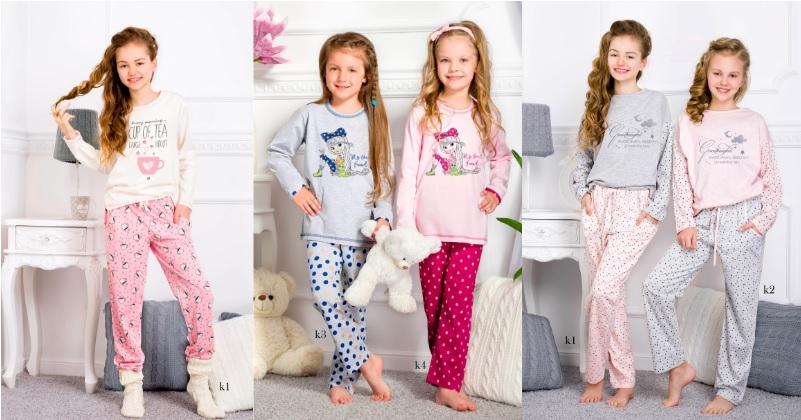 Пижамы детские для девочек купить