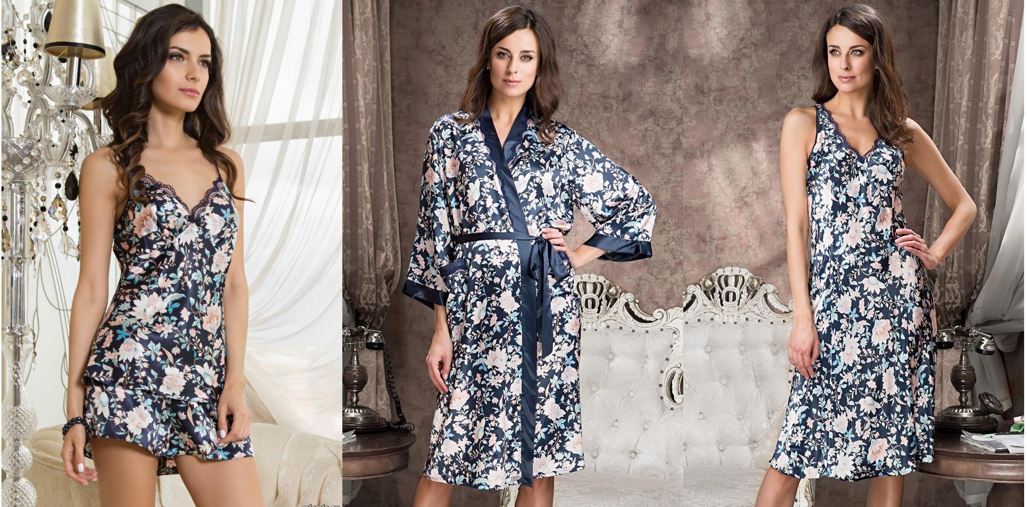 Emilia MIA-MIA сорочки халаты пижамы купить в интернет магазине Киев relish.com.ua
