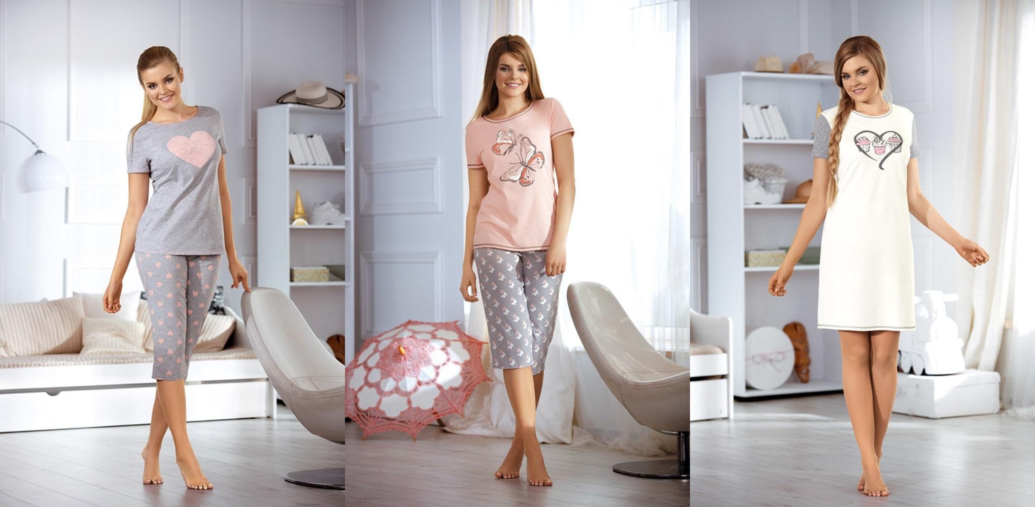 Женские пижамы сорочки Babella Польша купить интернет магазин relish.com.ua