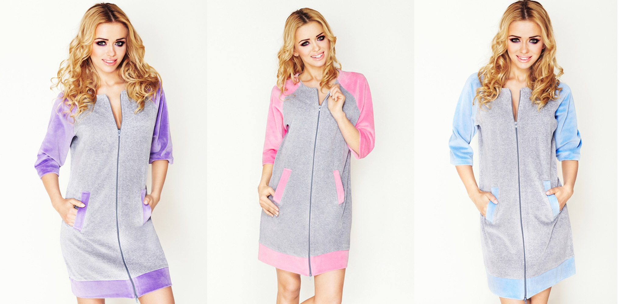Женские халаты Wanmar велюровые купить в интернет магазине Киев relish.com.ua
