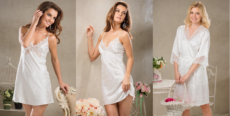 Ночные сорочки шелк Nataly MIA-MIA купить в интернет магазине Киев relish.com.ua
