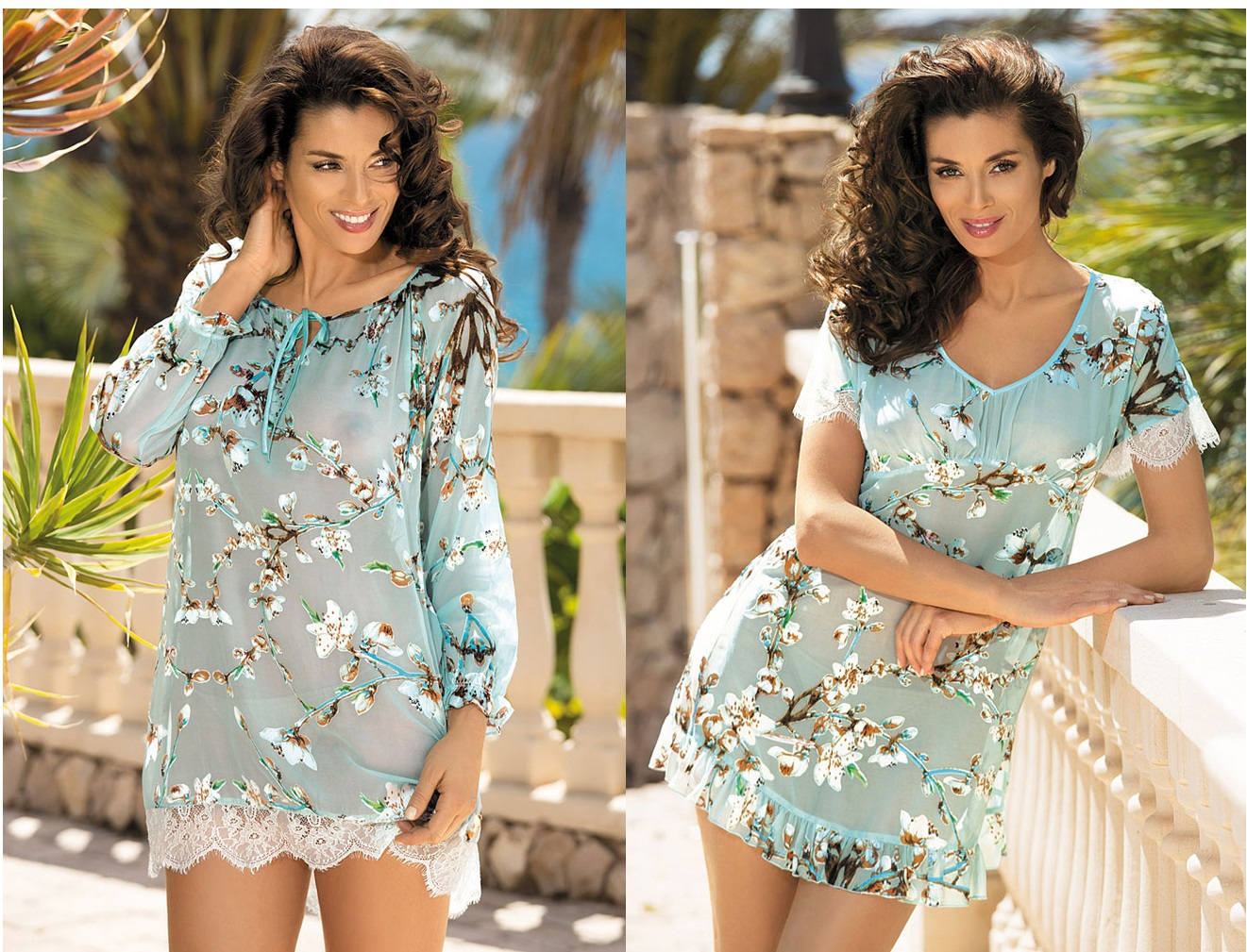 Ночные сорочки туники халаты Akira MIA-MIA купить в интернет магазине Киев relish.com.ua