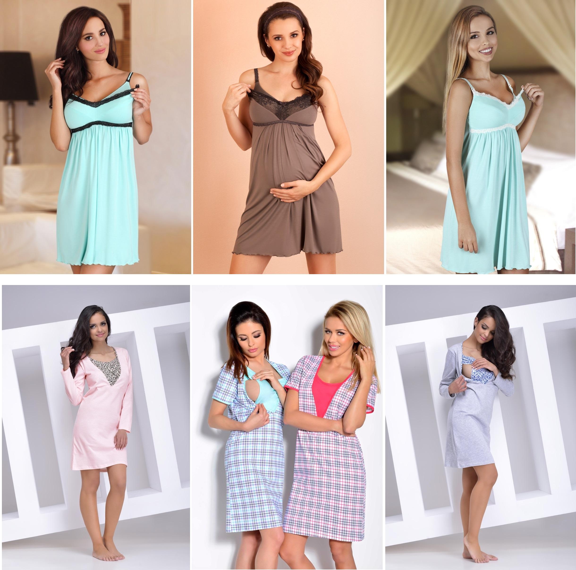 Сорочки для беременных и кормящих мам TARO Lupoline купить интернет-магазин
