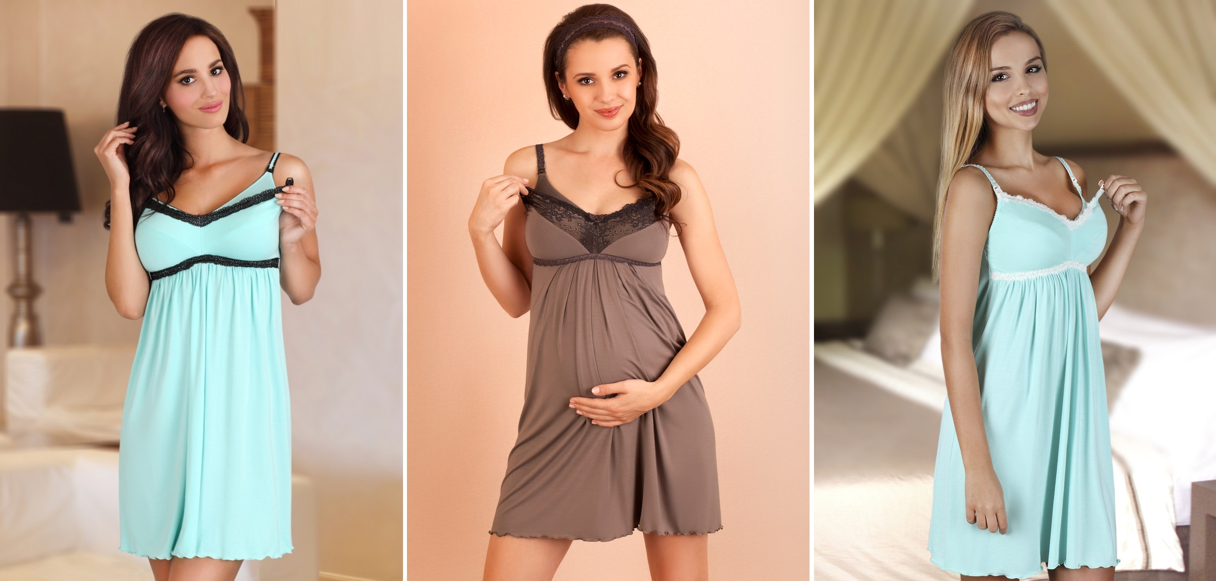 Сорочки для беременных и кормящих мам LUPOLINE купить в интернет-магазине Киев