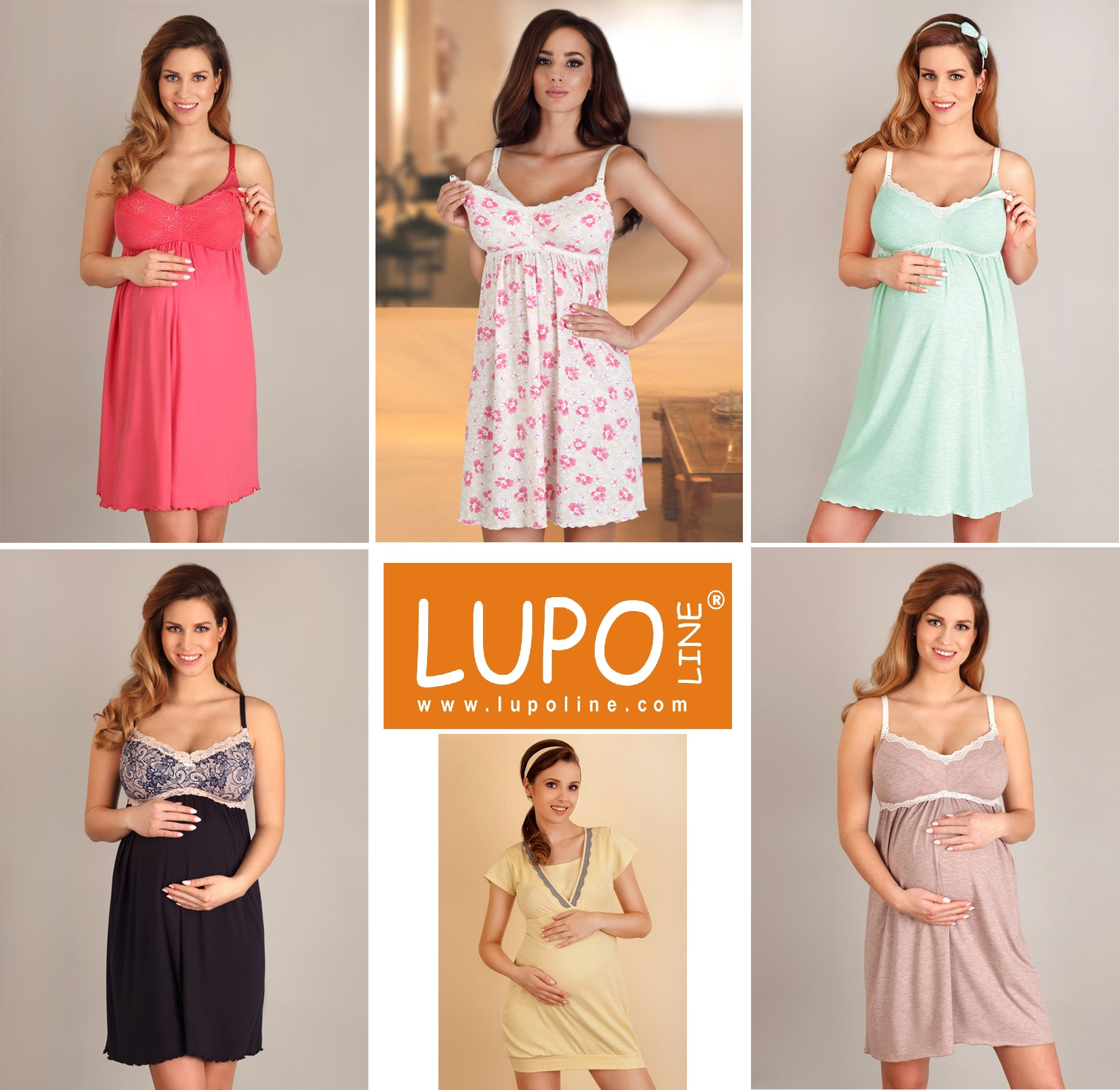 Одежда для беременных и кормящих мам ТМ Lupoline Польша - купить в интернет-магазине Киев