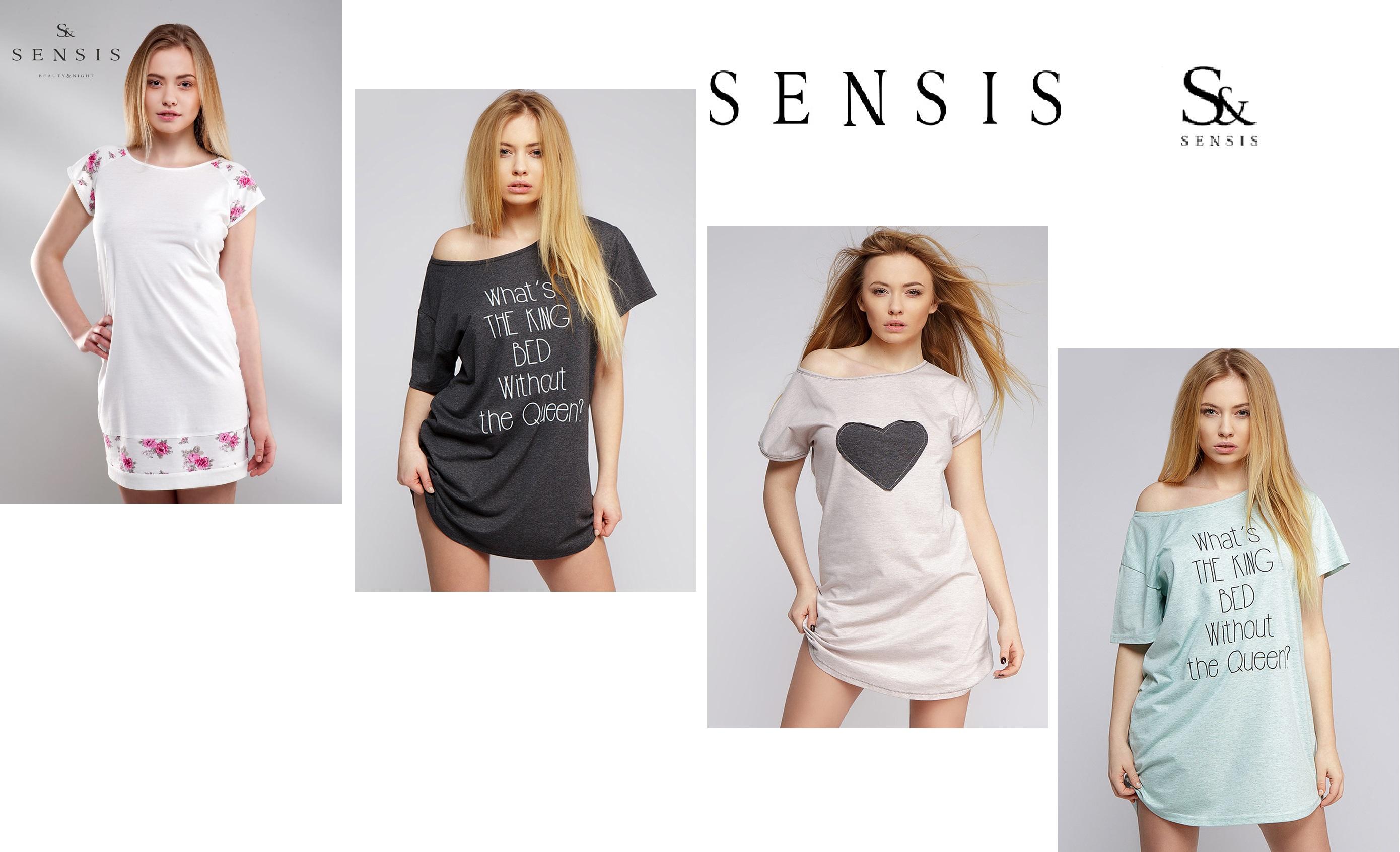 одежда для дома и сна пижамы сорочки халаты комплекты TM Sensis купить интернет-магазин Киев