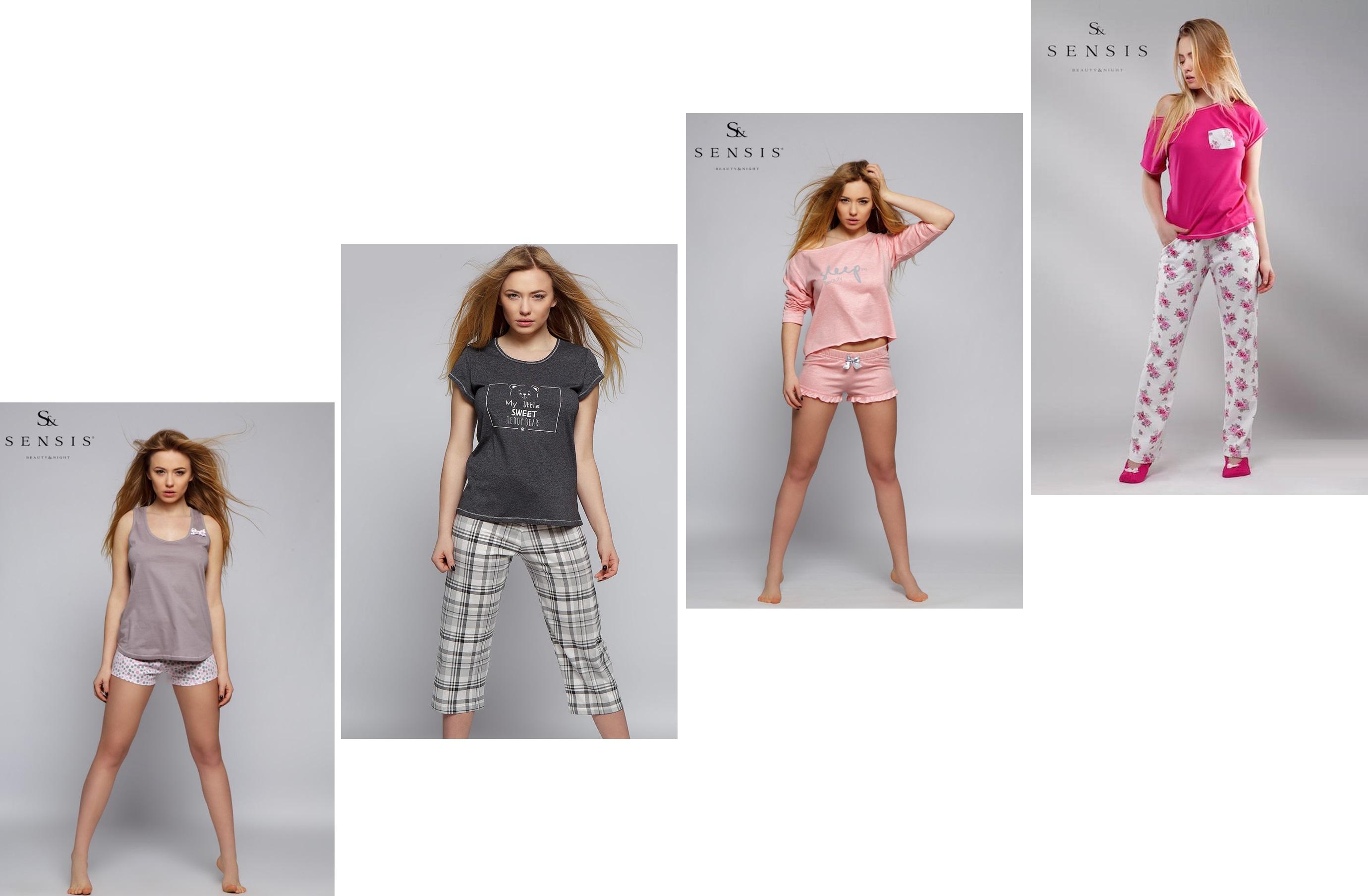 Пижамы комплекты женские ТМ Sensis купить интернет-магазин